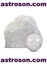 Белый (молочный) кварц