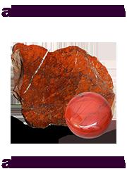 Красная яшма (яспис)