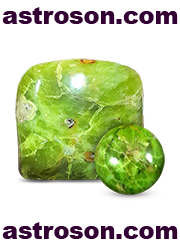 Зеленый опал хризопал