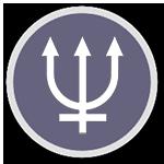 Символ Нептуна