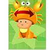 Ребенок знак Зодиака Рак