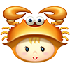 Мальчик знак Зодиака Рак