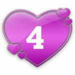 число любви 4
