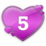 число любви 5
