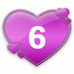 число любви 6