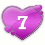 число любви 7
