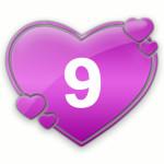 число любви 9