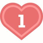 число сердца 1