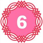 число силы рождения 6
