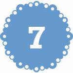 число внешнего облика 7