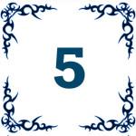 персональное годичное число 5