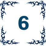 персональное годичное число 6