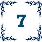 персональное годичное число 7