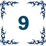 персональное годичное число 9