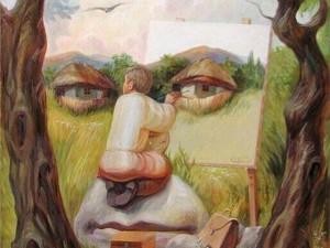 иллюзия обман