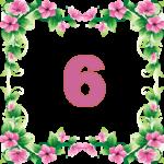 число кармического урока 6