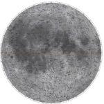 Карта луны видимое полушарие