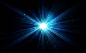 Самая яркая звезда на ночном небе