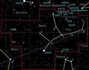 Созвездие Дева