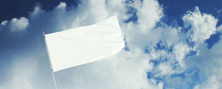 Белый флаг символ