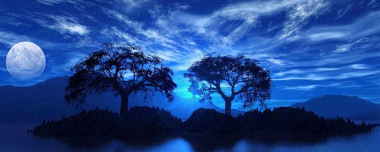 Синий цвет символ