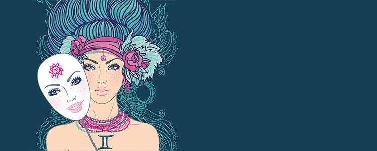 Женщина - знак зодиака Близнецы