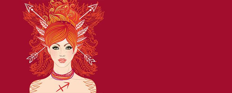 Женщина - знак зодиака Стрелец