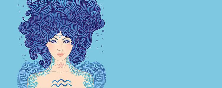 Женщина - знак зодиака Водолей