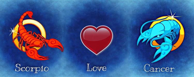 Мужчина Скорпион и Женщина Рак совместимость в любви
