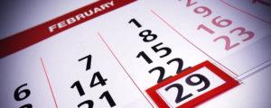Високосные года: список, календарь. Когда следующий високосный год?