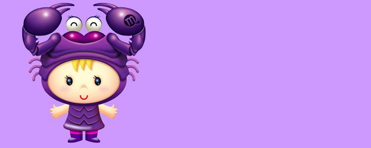 Ребенок - знак зодиака Скорпион