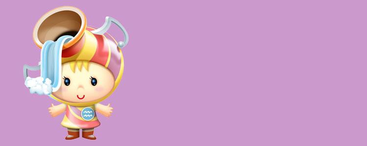 Ребенок - знак зодиака Водолей