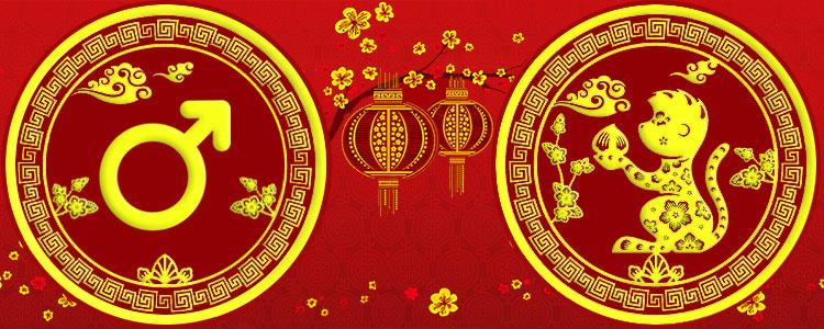 Мужчина Обезьяна - Китайский гороскоп