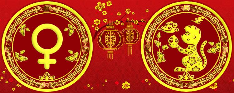 Женщина Обезьяна - Китайский гороскоп