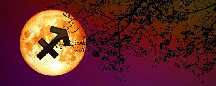 Луна в Стрельце